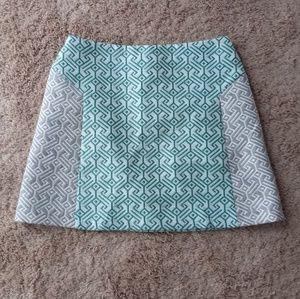 Topshop PatternedA-Line Skirt* size 4